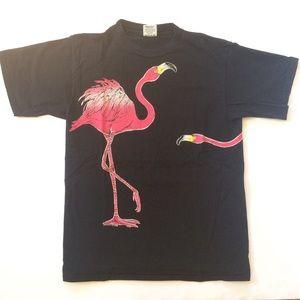 80s Pink Flamingos T-Shirt